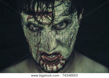 Spooky Zombie Man