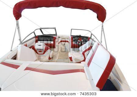 luxury boat interior
