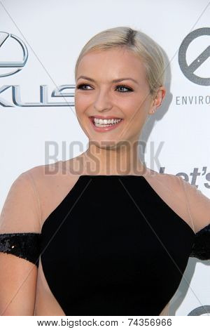 LOS ANGELES - OCT 18:  Francesca Eastwood at the 2014 Environmental Media Awards at Warner Brothers Studios on October 18, 2014 in Burbank, CA