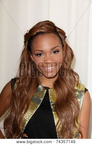 .LOS ANGELES - OCT 20:  Lauryn McClain at the Creativ PR Collections at Fashion Week at Mondrian on October 20, 2014 in West Hollywood, CA