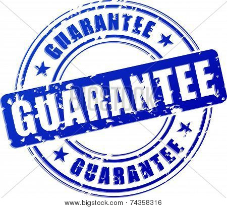 Guarantee Blue Stamp