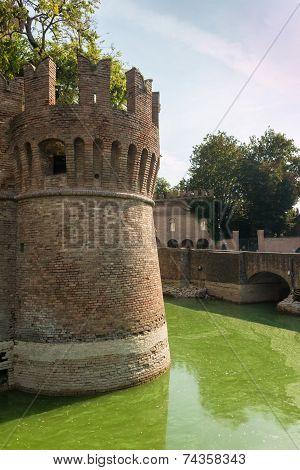 Rocca Sanvitale Fontanellato Castle, Italy, Emilia-romagna Region, Parma