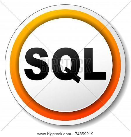Sql Orange Icon