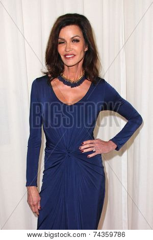 LOS ANGELES - OCT 20:  Janice Dickinson at the Creativ PR Collections at Fashion Week at Mondrian on October 20, 2014 in West Hollywood, CA