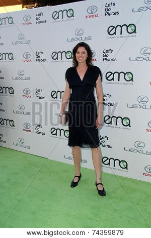 LOS ANGELES - OCT 18:  Jorja Fox at the 2014 Environmental Media Awards at Warner Brothers Studios on October 18, 2014 in Burbank, CA