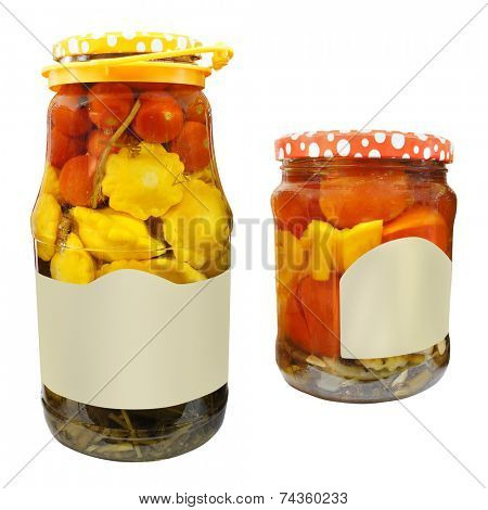 The image of vegetable jar
