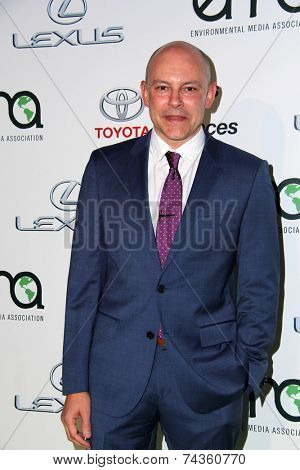 LOS ANGELES - OCT 18:  Rob Corddry at the 2014 Environmental Media Awards at Warner Brothers Studios on October 18, 2014 in Burbank, CA