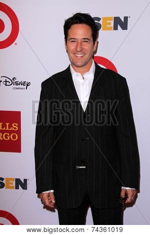LOS ANGELES - OCT 17:  Rob Morrow at the 10th Annual GLSEN Respect Awards at Regent Beverly Wilshire on October 17, 2014 in Beverly Hills, CA
