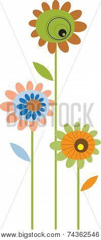Flowers , Floral Arrangement, Flower Vector
