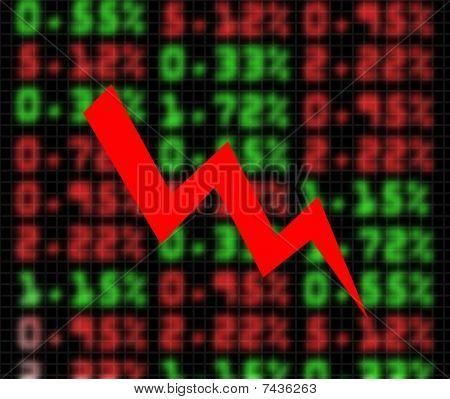 Stock Market Exchange Going Down