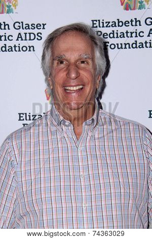 LOS ANGELES - OCT 19:  Henry Winkler at the 25th Annual