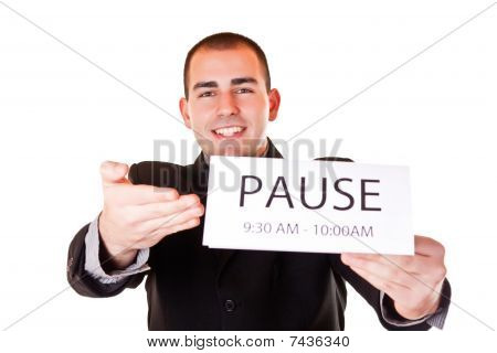 Happy Time For Pause