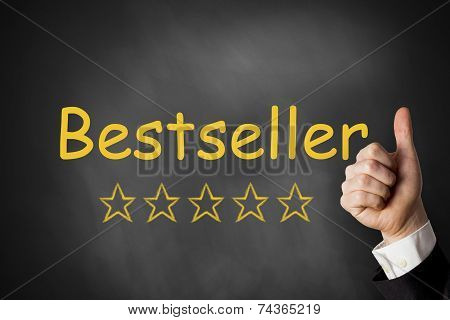 Thumbs Up Black Chalkboard Bestseller Ranking