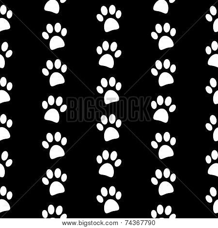 Tiger paw print background - photo#7