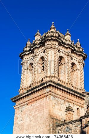 Cuzco Cathedral Spire