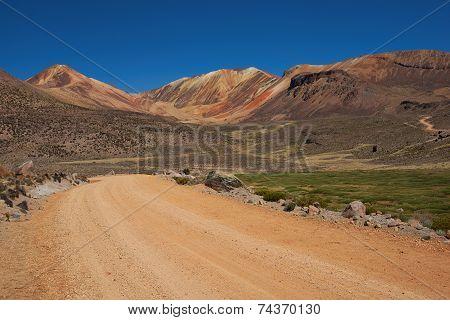 Gravel Road in the Atacama