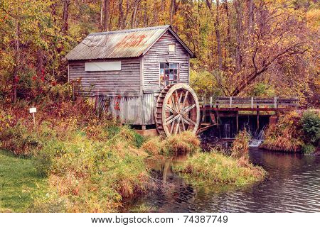 Autumn at the old Mill, Wisconsin