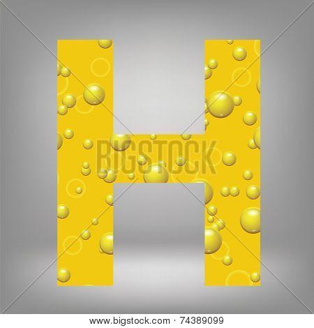 Beer Letter H