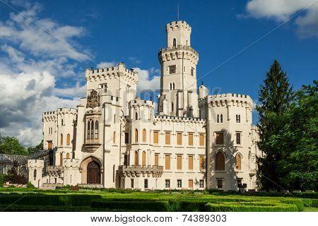 Castle Hluboka Nad Vltavou