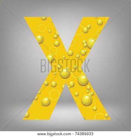 Beer Letter X