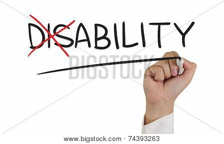 Disability to Ability
