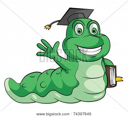 caterpillar Go to School