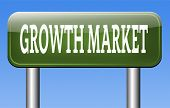 pic of economy  - growth market economy growing emerging economies in developing countries  - JPG