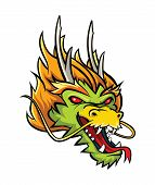 foto of dragon head  - Dragon Head Editable  - JPG
