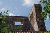 pic of sari  - ruins at pulo cemeti taman sari water castle  - JPG
