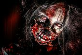 pic of zombie  - Close - JPG