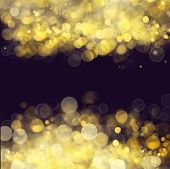 pic of merry chrismas  - chrismas frame background with golden beams and sparkles - JPG