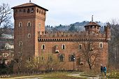 Turin, Medieval Castle poster