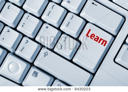 Keyboard With Key Learn