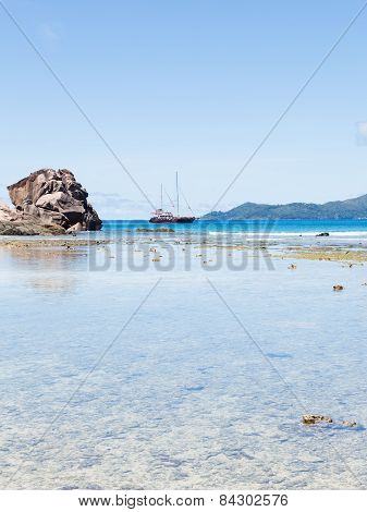 Rocky Stone And Yacht