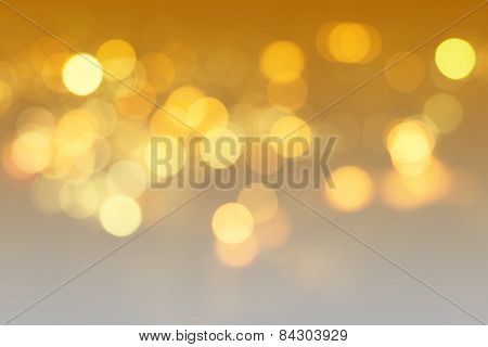 Abstract Bokeh Background With Defocused Lights