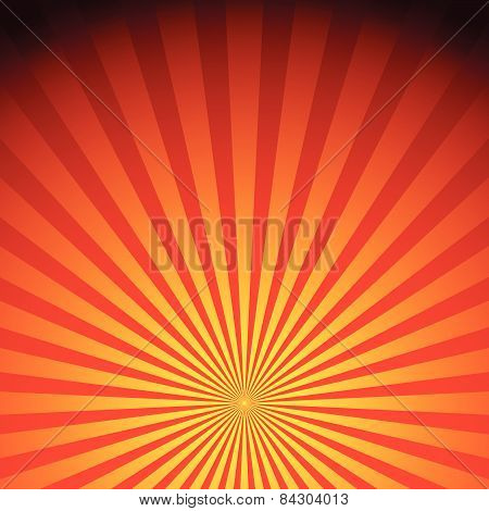 Rays, Sunburst, Sunrise Vector