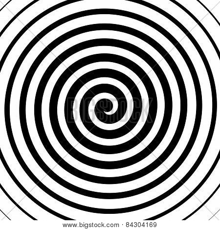 Volute, Spiral, Concentric Lines, Circular Motion, Rotating Background