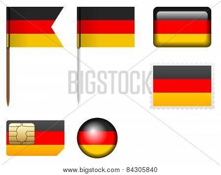 Germany Flag Set