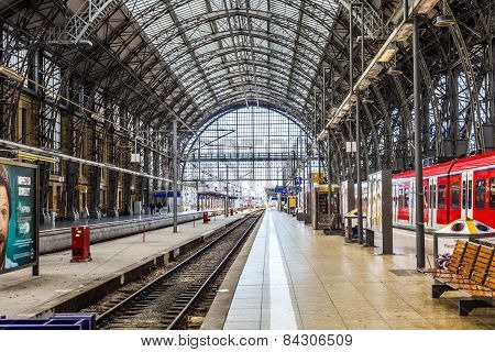 Inside The Frankfurt Central Station