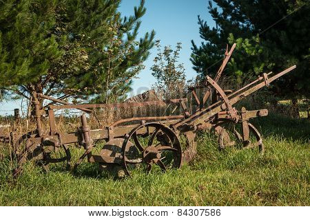 Vintage Farming Plough