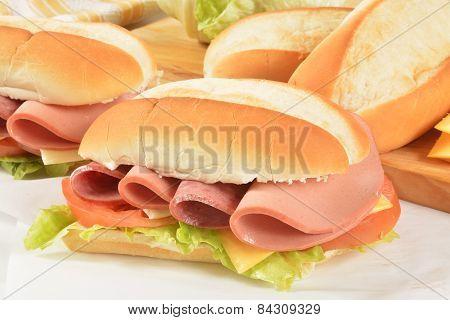 Hogie Sandwiches