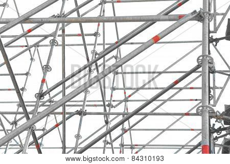 Construction Scaffold Isolated