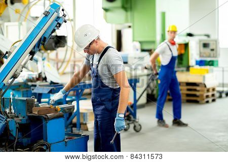 Worker In Factory