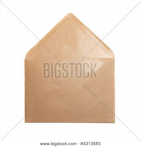 Open Paper Envelope