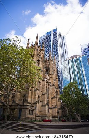 St. Andrew Cathedral In Sydney