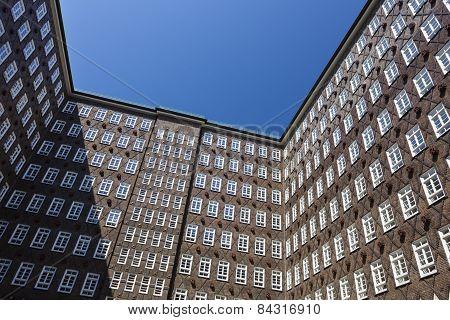 Sprinkenhof In Hamburg, Germany
