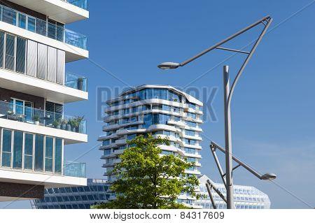 Abstract Modern Architecture In Hamburg