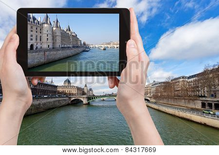 Photo Of Seine River And Bridges In Paris