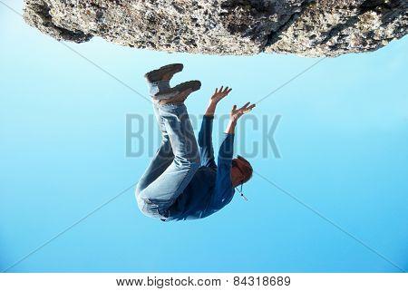 Falling Down Man