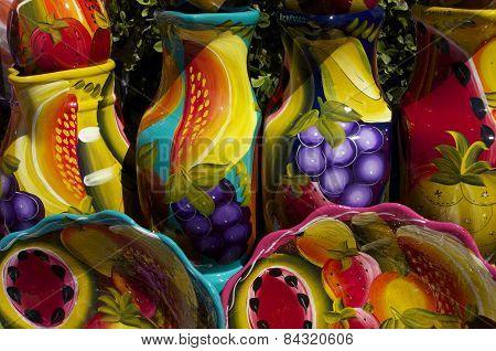 Colorful Ceramics - Close up